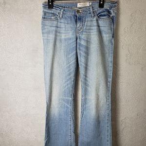 "Abercrombie ""Madison"" stretch bootcut jeans. Sz 4R"